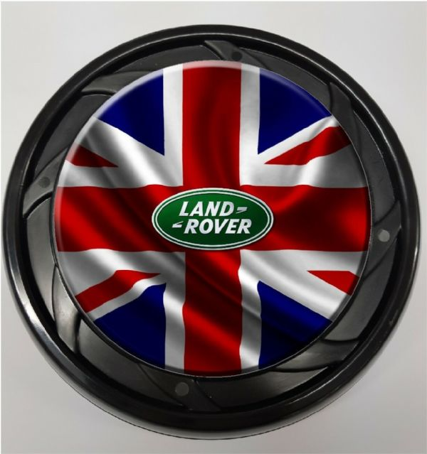 WHEELCHAIR & POWERCHAIR Personalised Spoke Guards Union Jack Landy Design